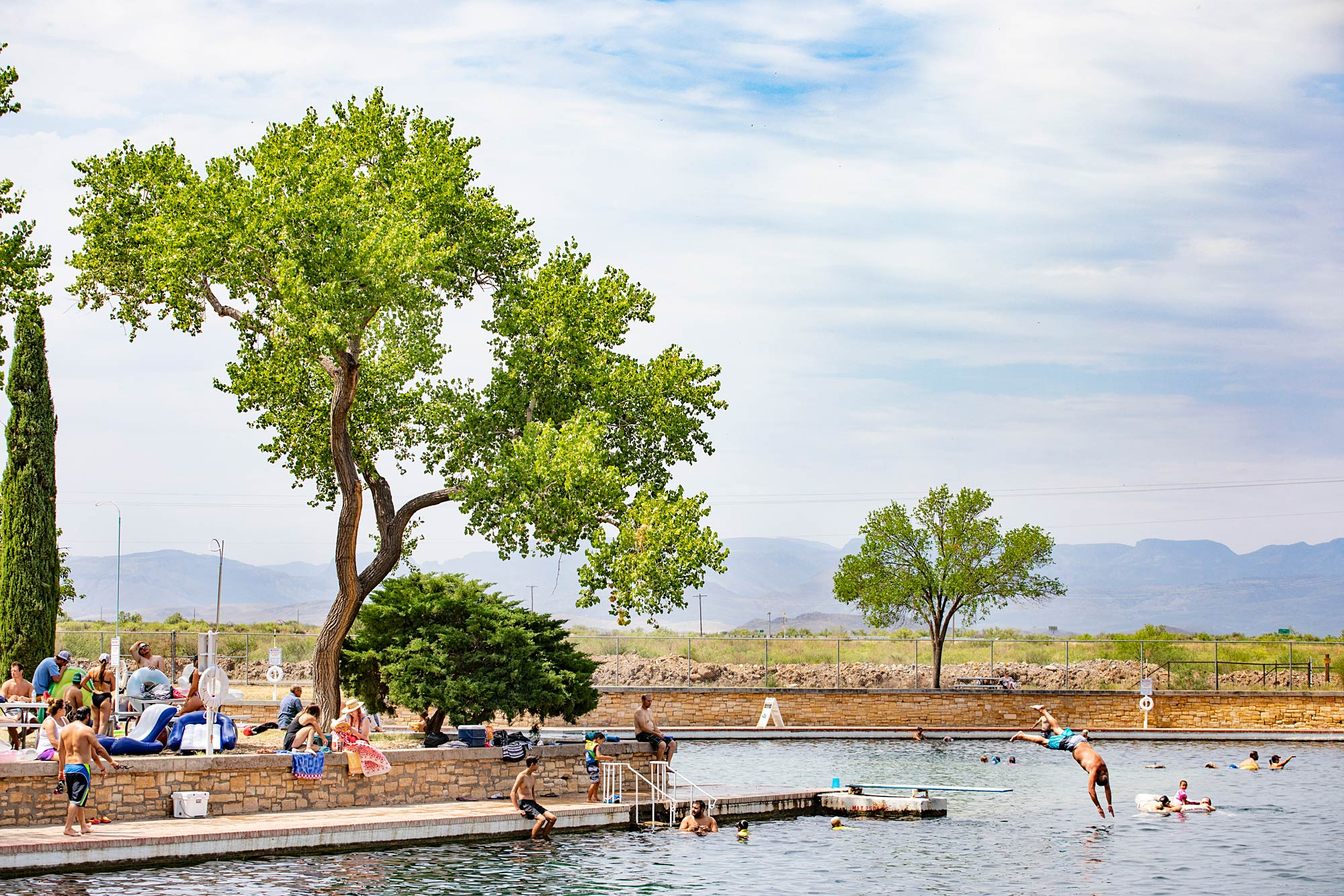 Balmorhea State Park Swimming Pool