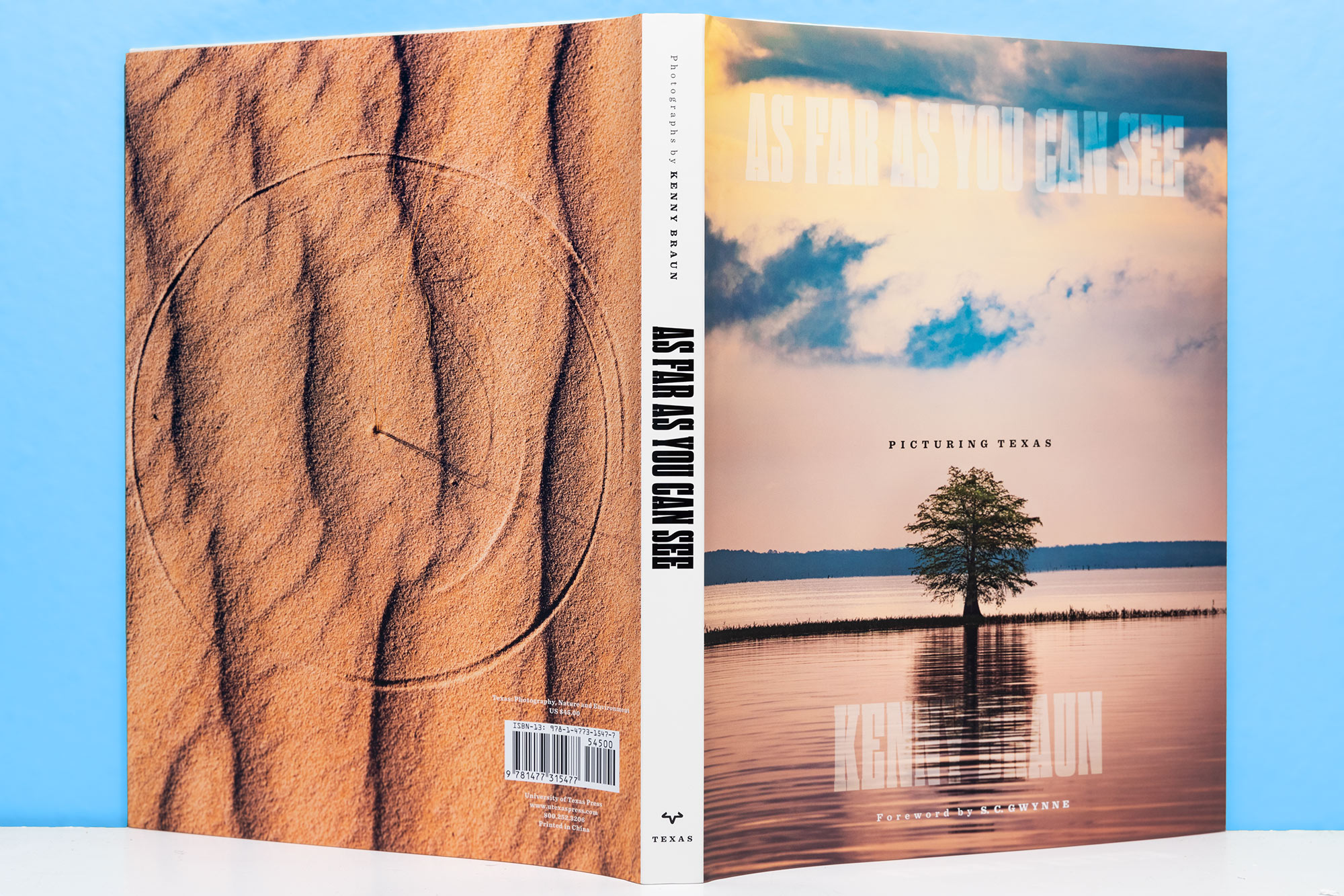 As Far As You Can See  - Texas landscape photography book
