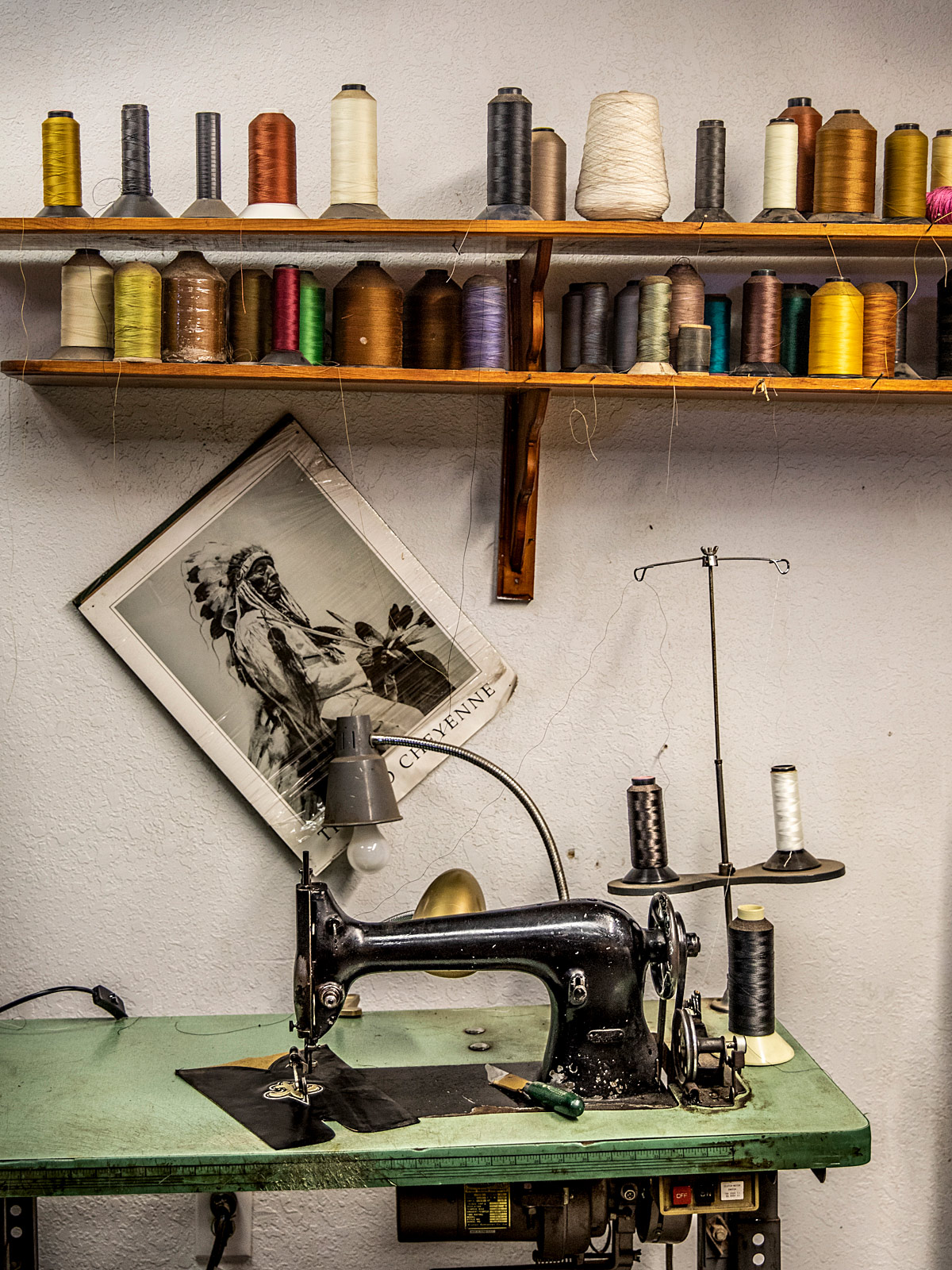 Sewing machine in Carmargo