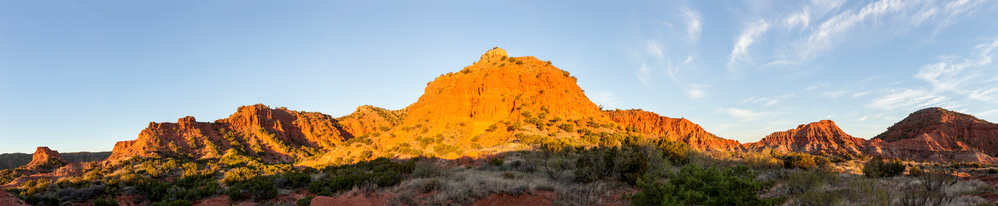First Light - Upper Canyon Trail - Caprock Canyons State Park, Texas
