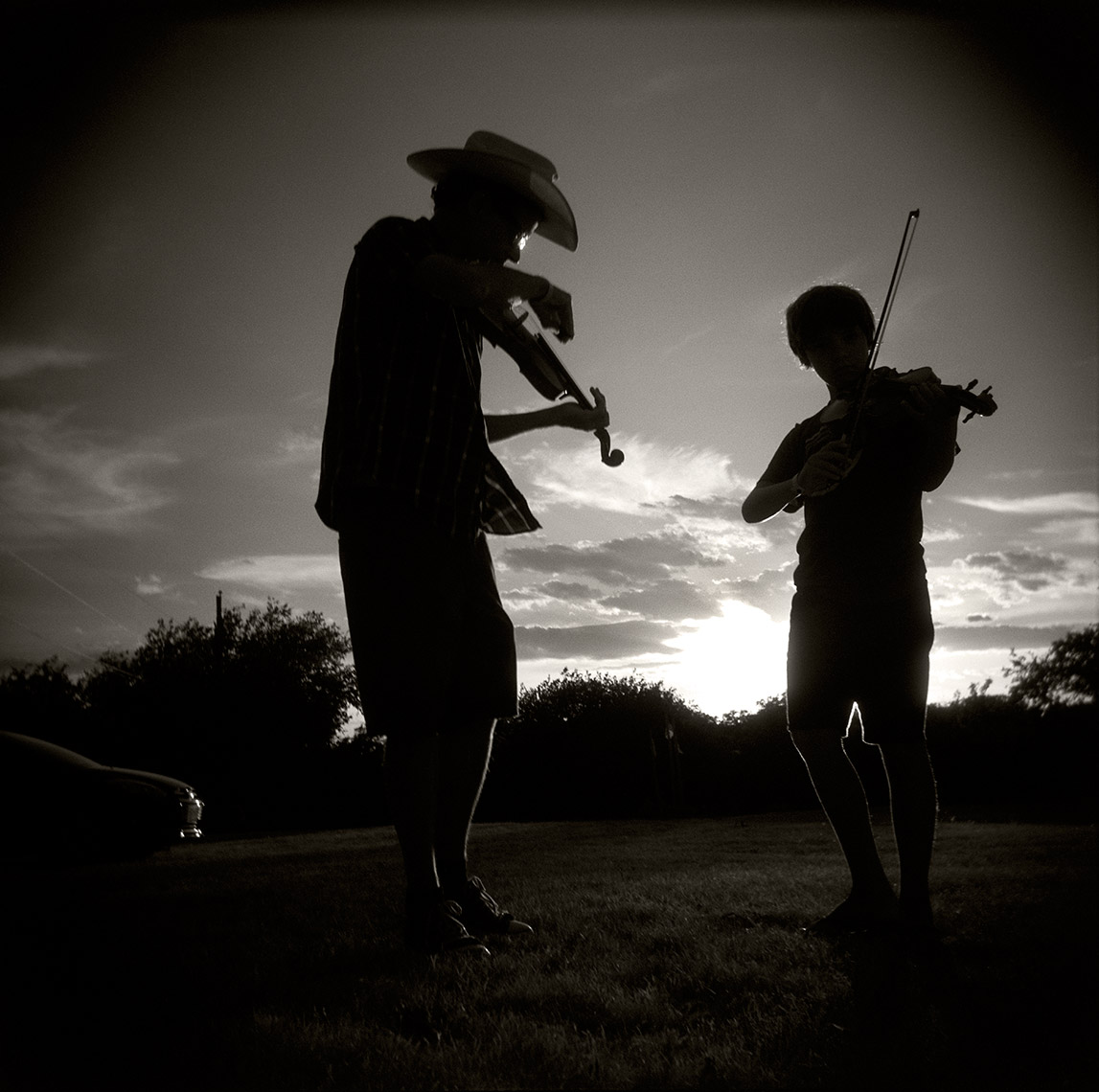 Michael and Jack Hall Texas Fiddle Camp