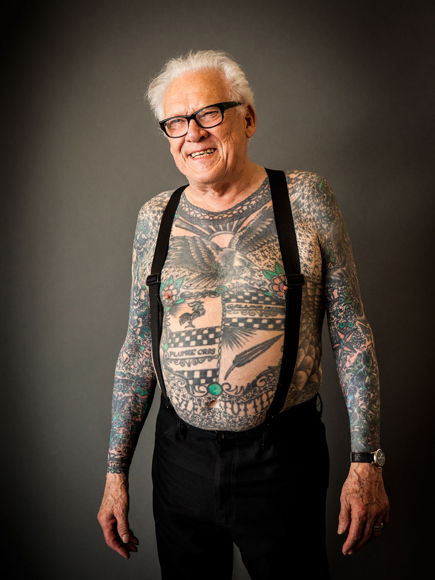 Lyle Tuttle - Grandfather of contemporary American tattooing