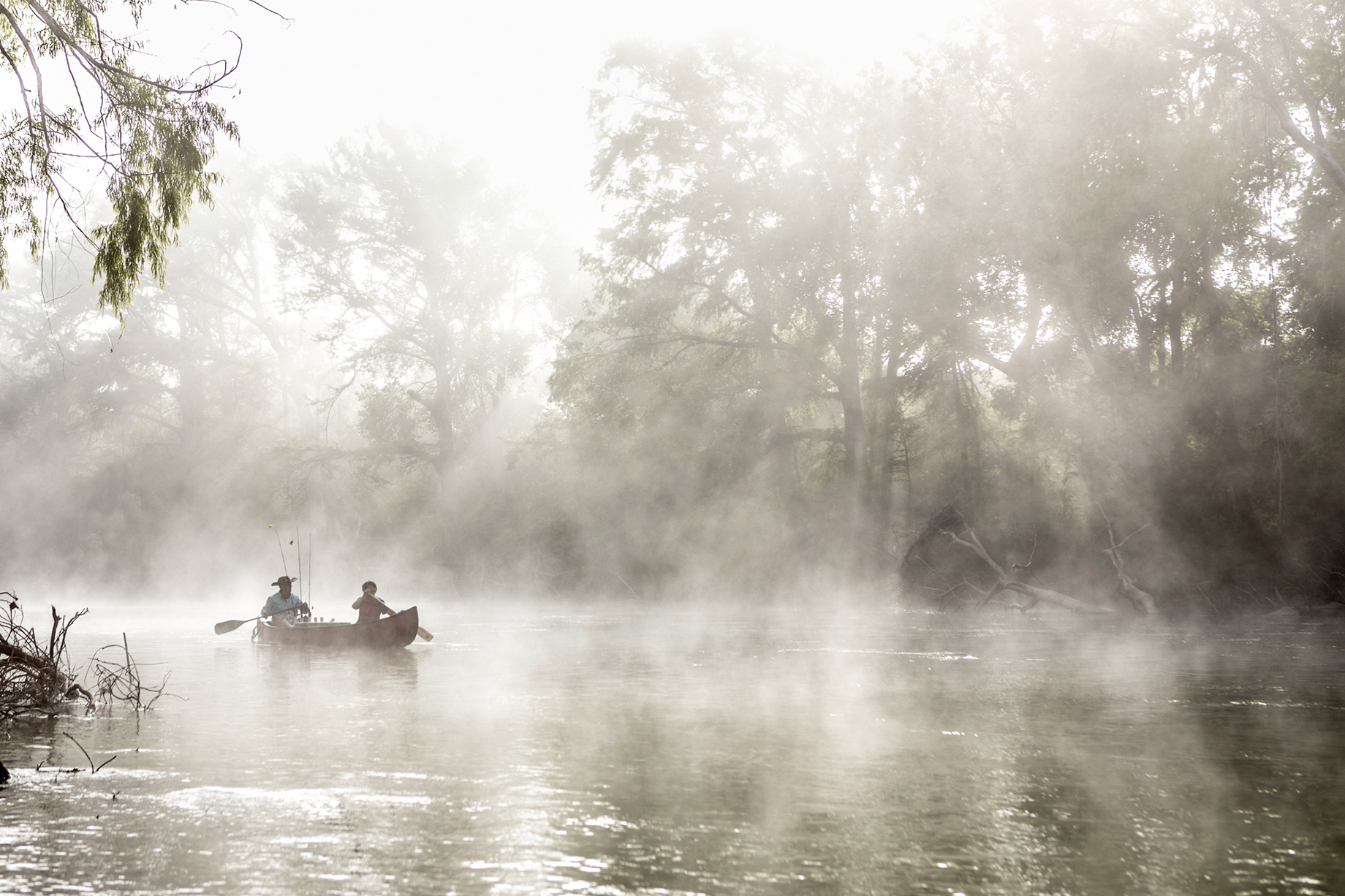 Guadalupe River Canoe Trip