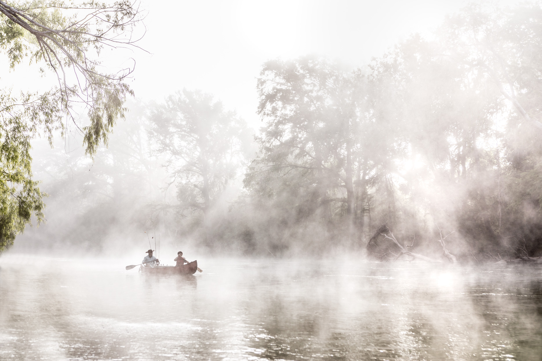 Guadalupe River Canoe Camping