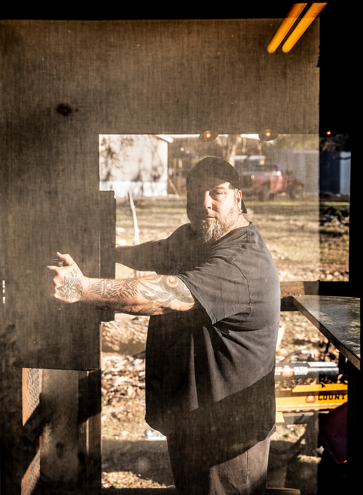 Jake Gandolfo - Pitmaster at Blackboard BBQ