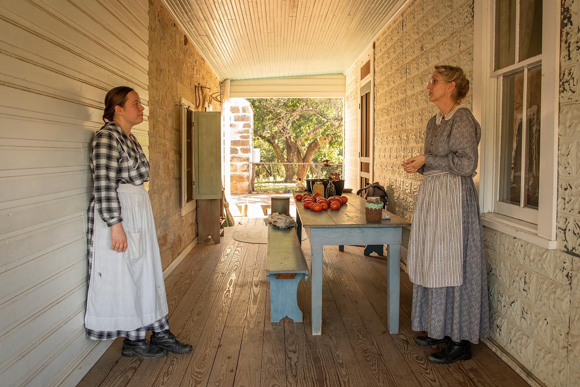 Sauer-Beckmann Living History Farm – Lyndon B. Johnson State Park and Historic Site.