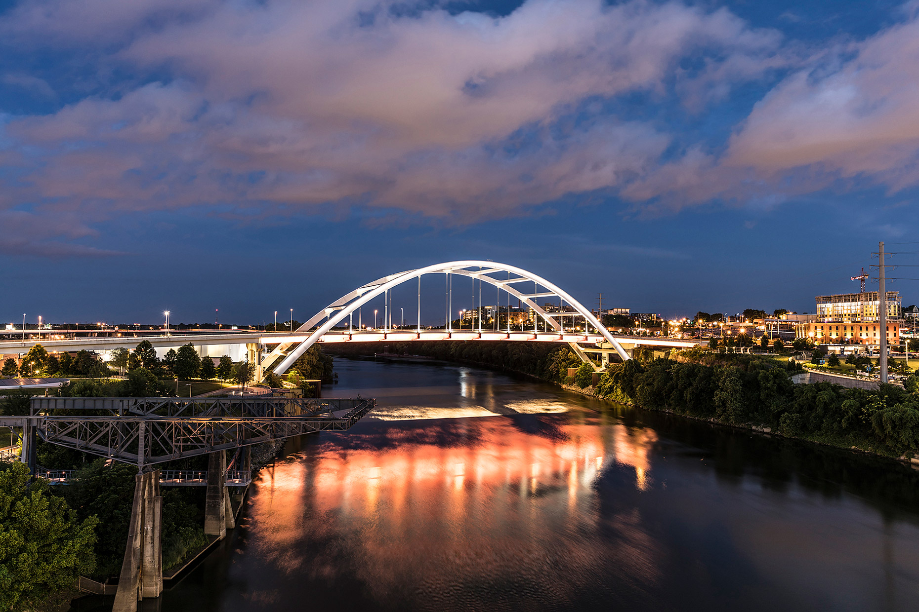 Twilight Bridge - Nashville