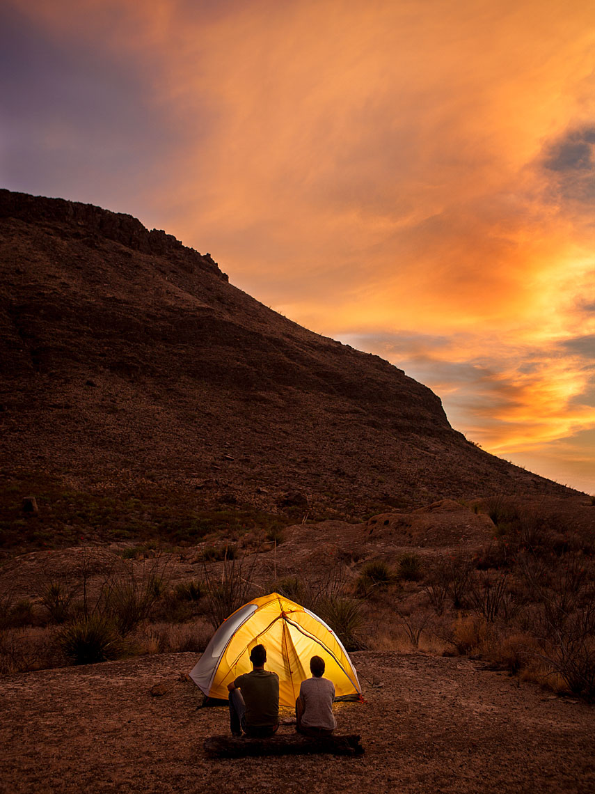 Camping at Big Bend Ranch State Park