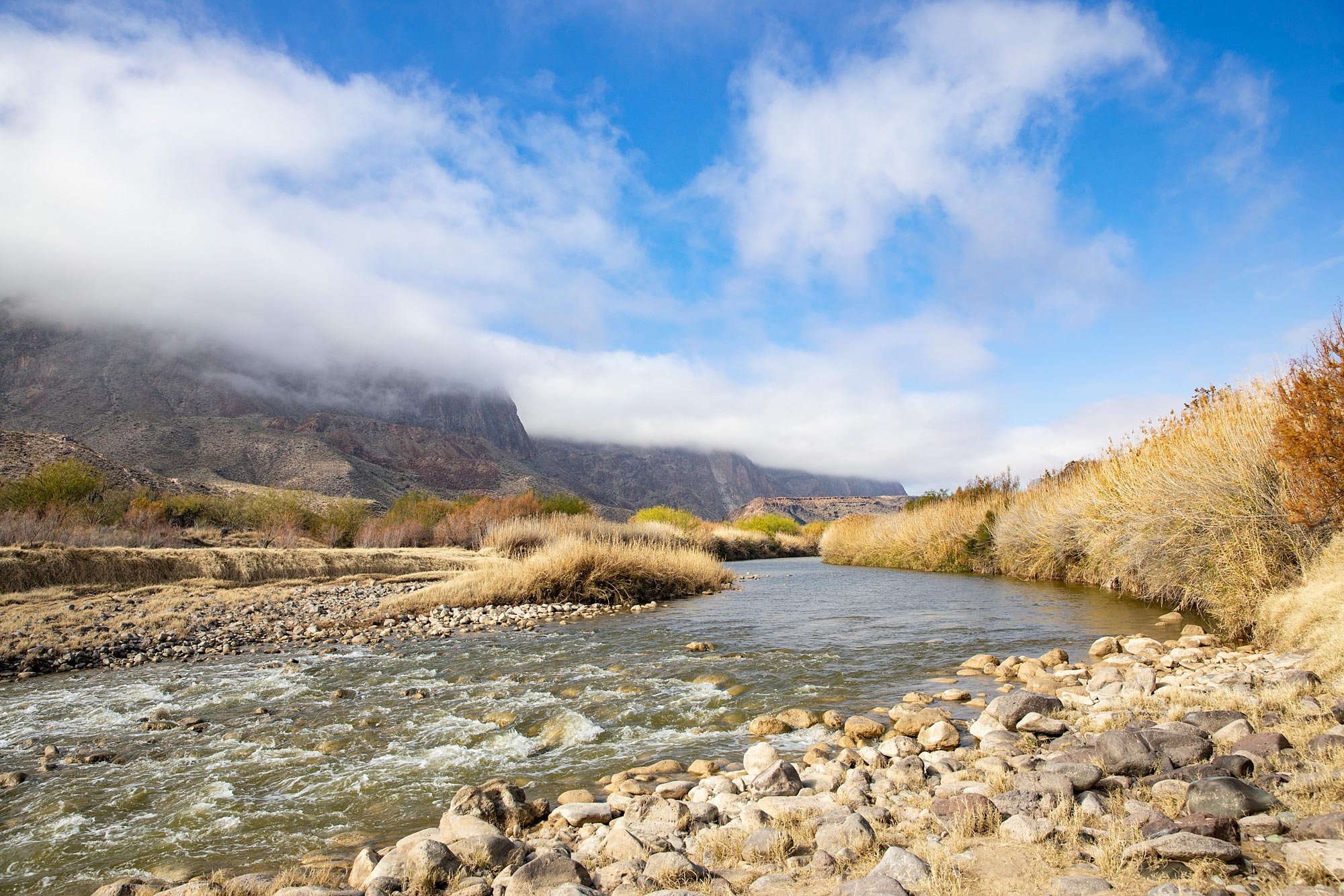 Rio Grande River - Big Bend Ranch State Park