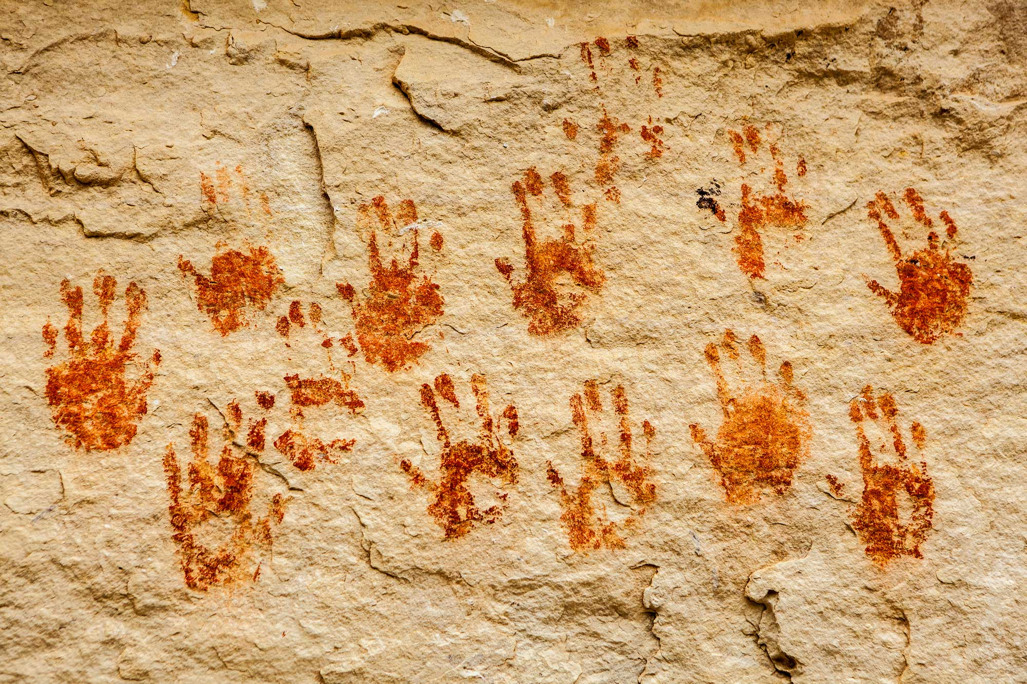 Contact - Ancient Hand Print Rock Art Site on the Devil's River