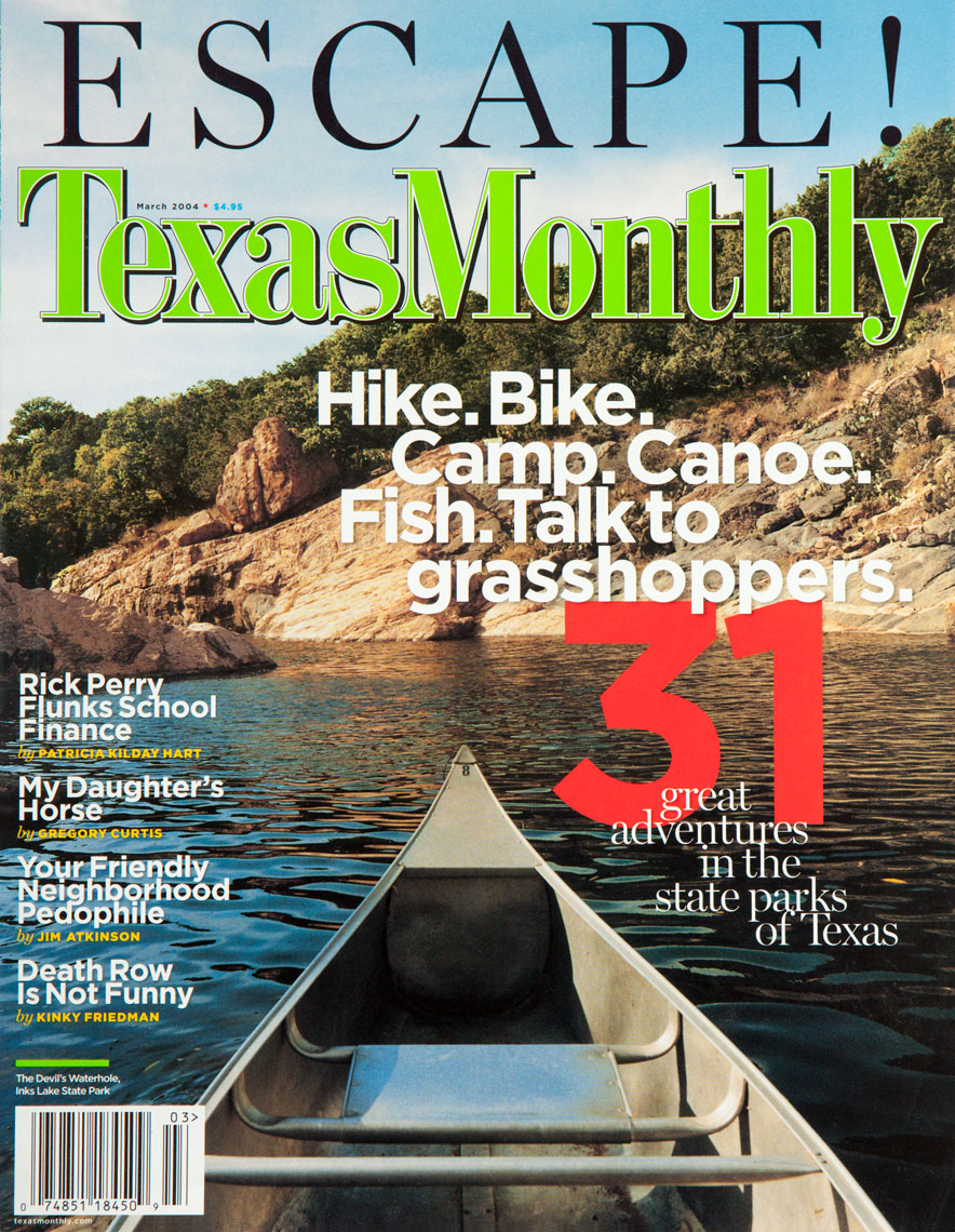 Texas Monthly - Inks Lake Devil