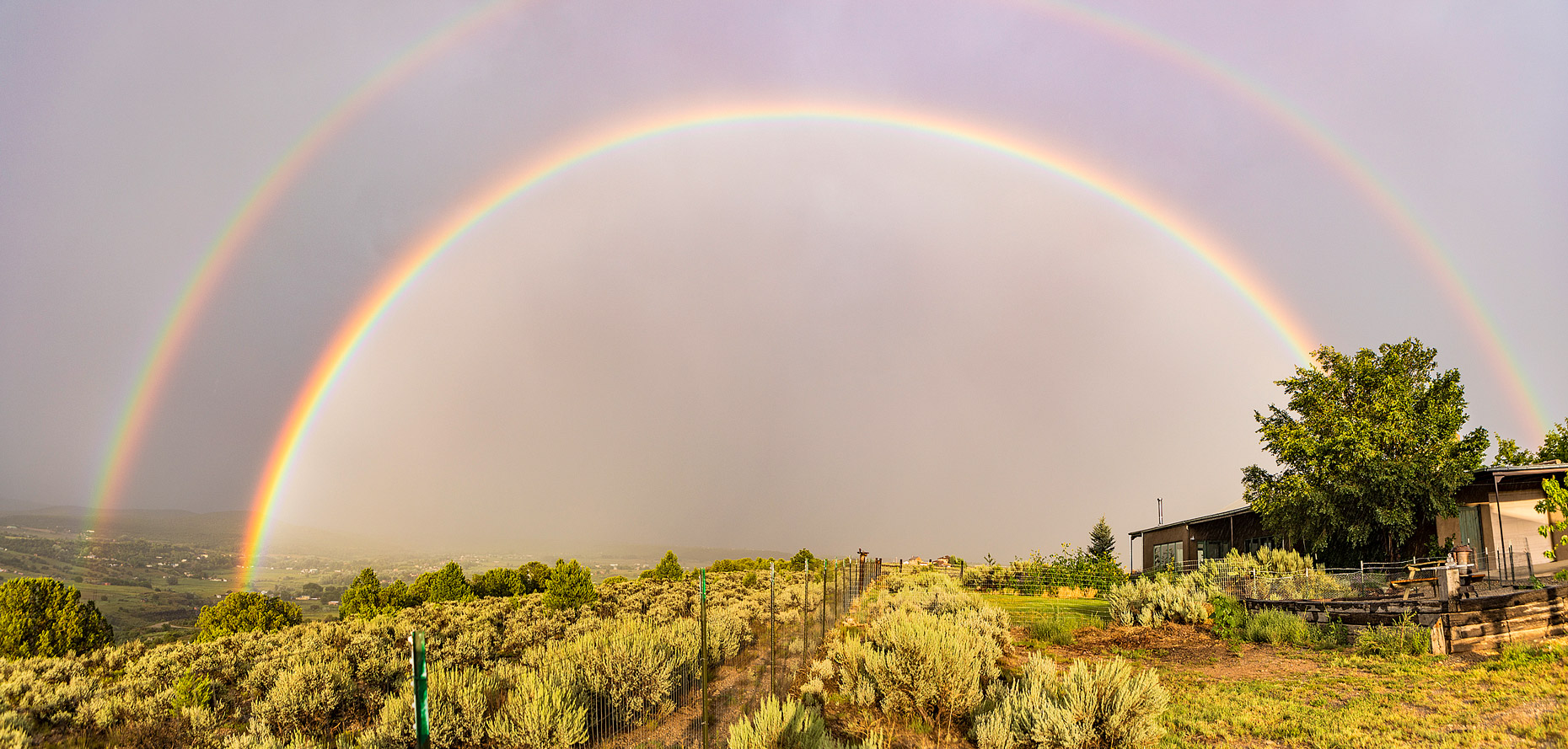 Arrroyo Hondo, New Mexico - Rainbow
