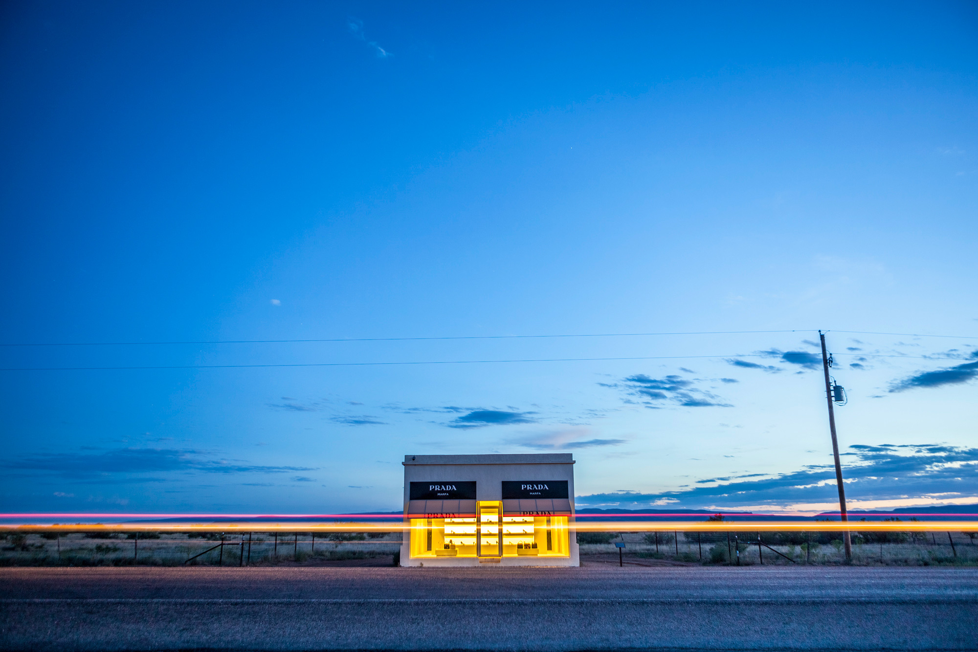 Prada Marfa in West Texas